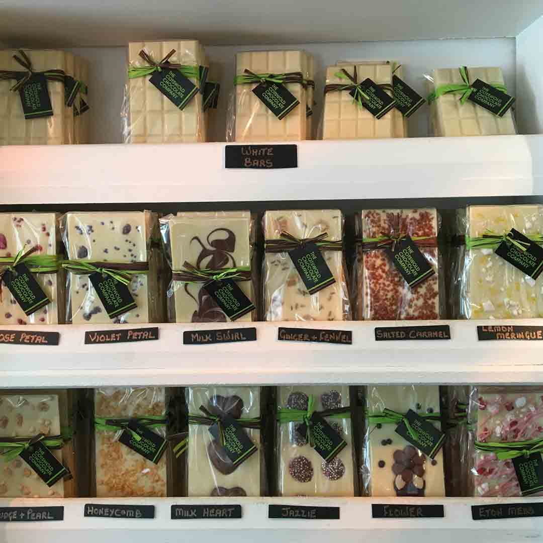 The Cotswold Chocolate Company - White Chocolate Bars