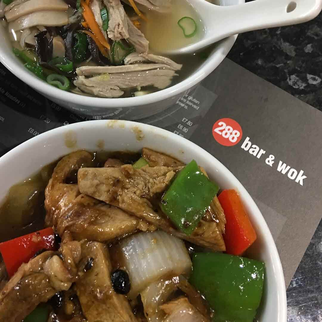 Duck in Black Bean Sauce, Shredded Duck Soup