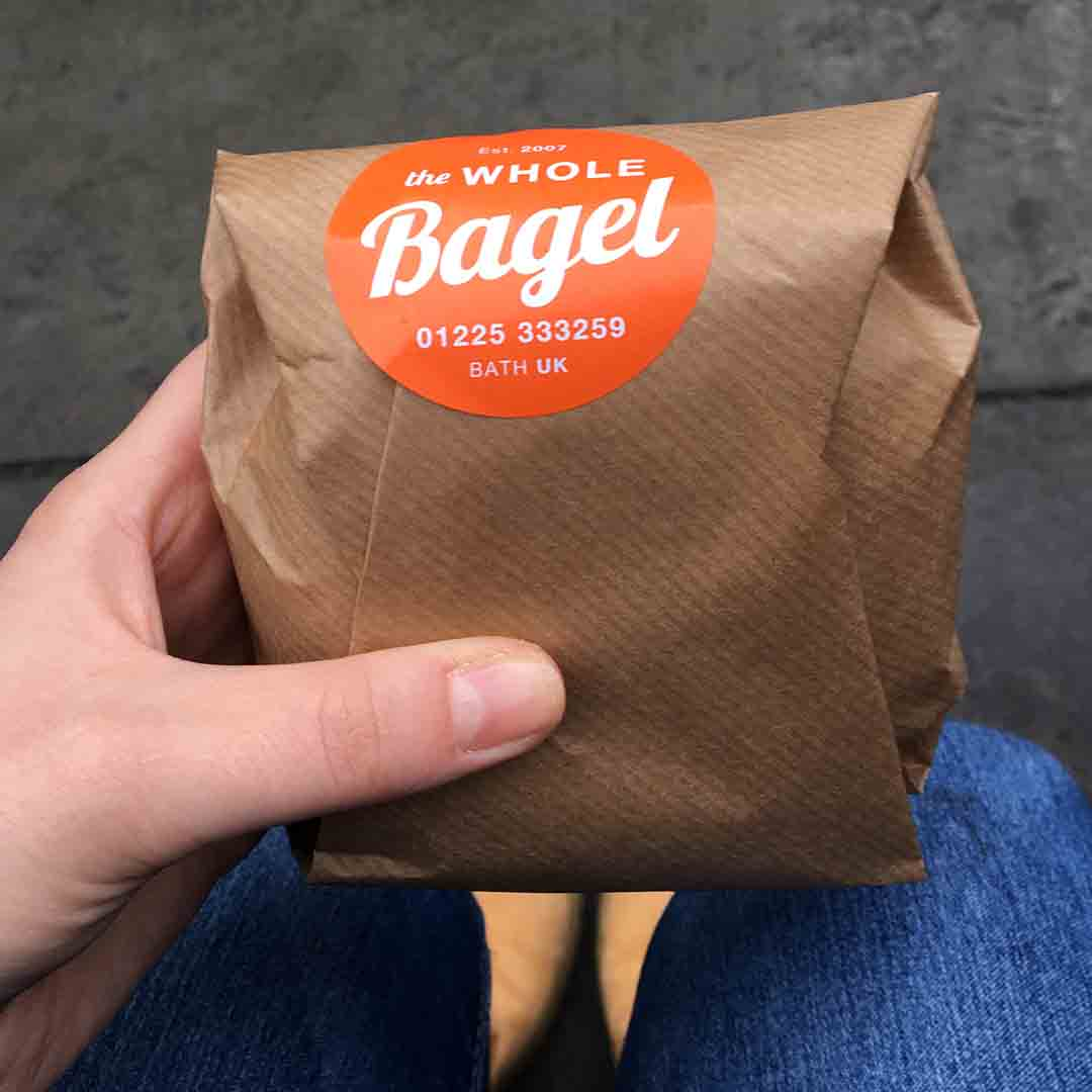 The Whole Bagel Packaging