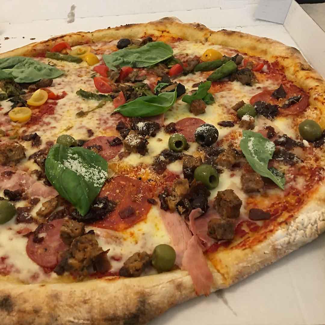 "Fat Toni's 20"" Sourdough Pizza Crust"