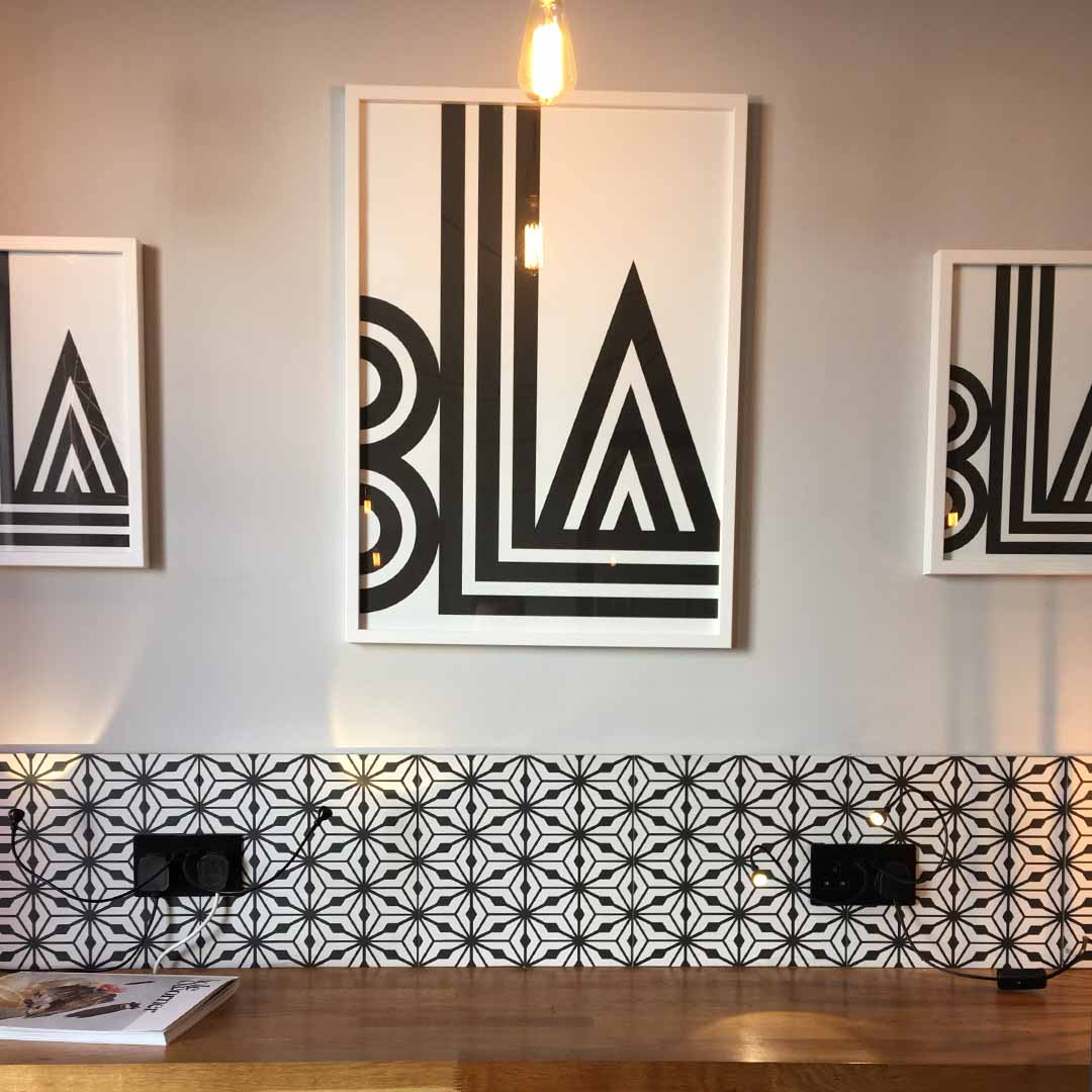 Coffee bar and decor