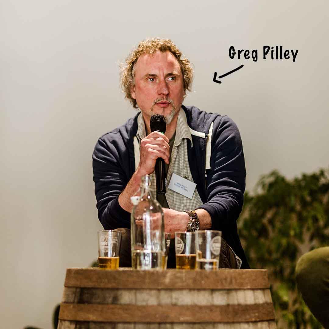 Stroud Brewery founder Greg Pilley