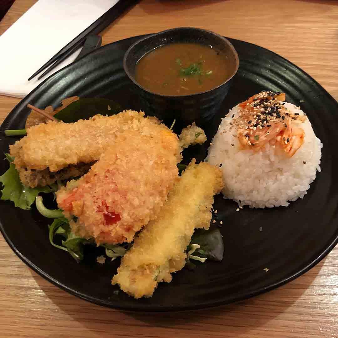 Kibou's Vegetable Katsu Curry
