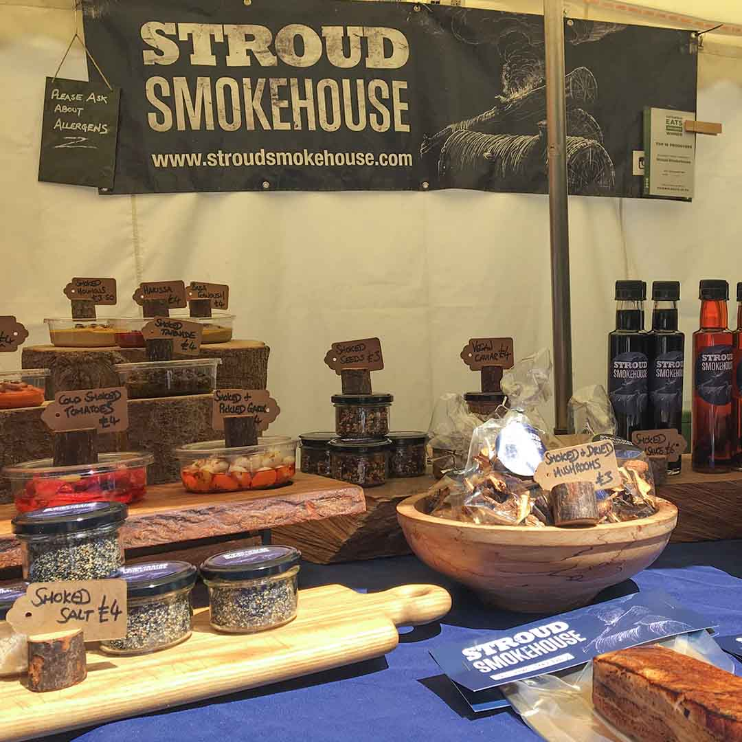 A selection from the Stroud Smokehouse product range