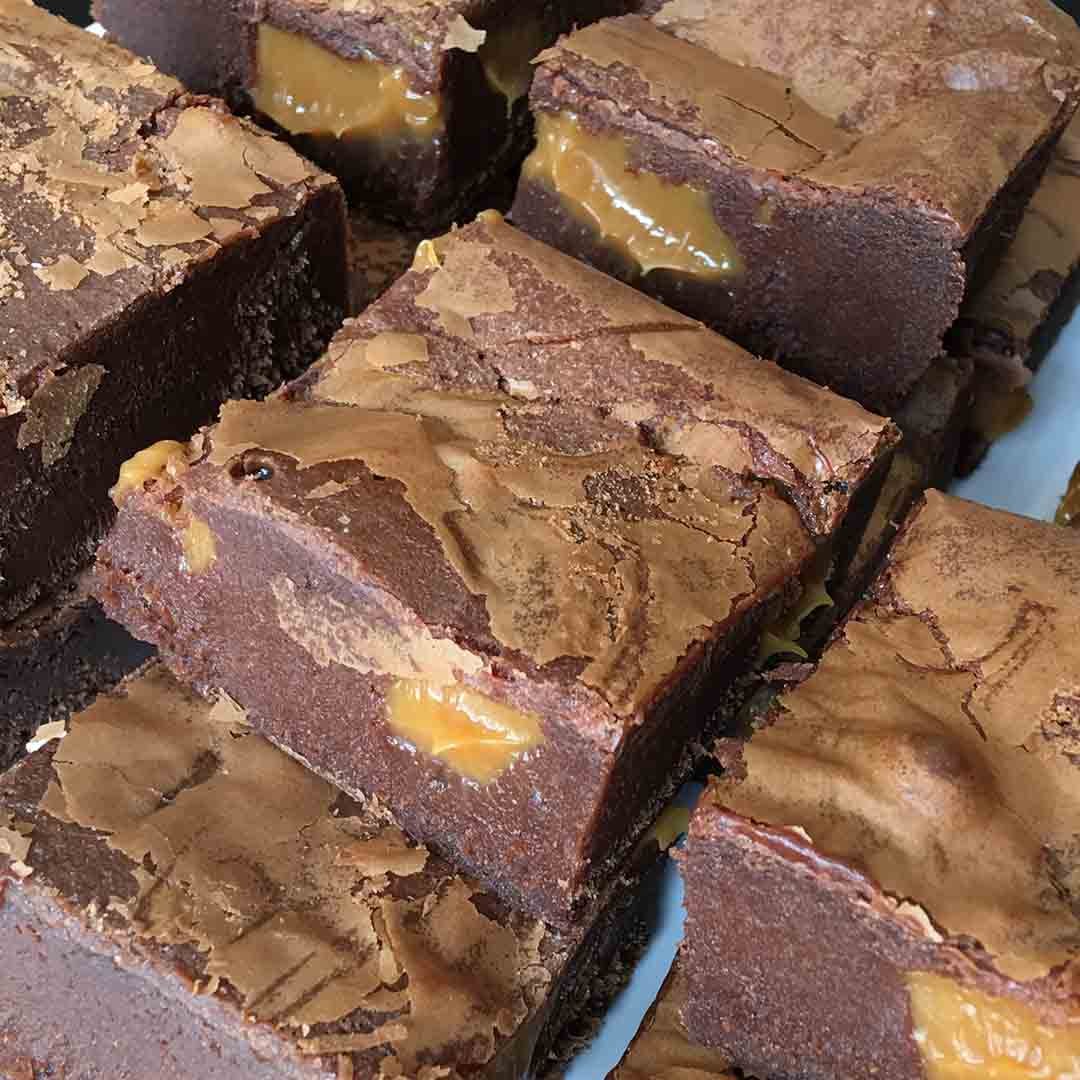 7a Salted Caramel Brownies