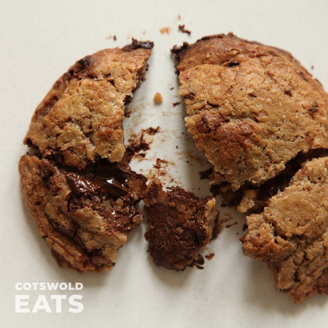Gooey Chocolate Chunk Cookie by Cotswold Eats