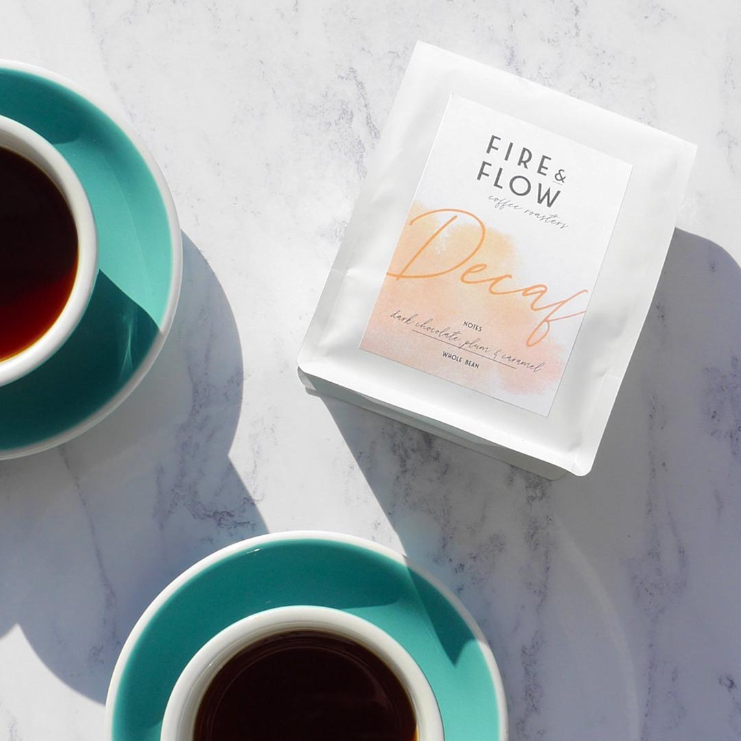 Fire and Flow Decaf Coffee