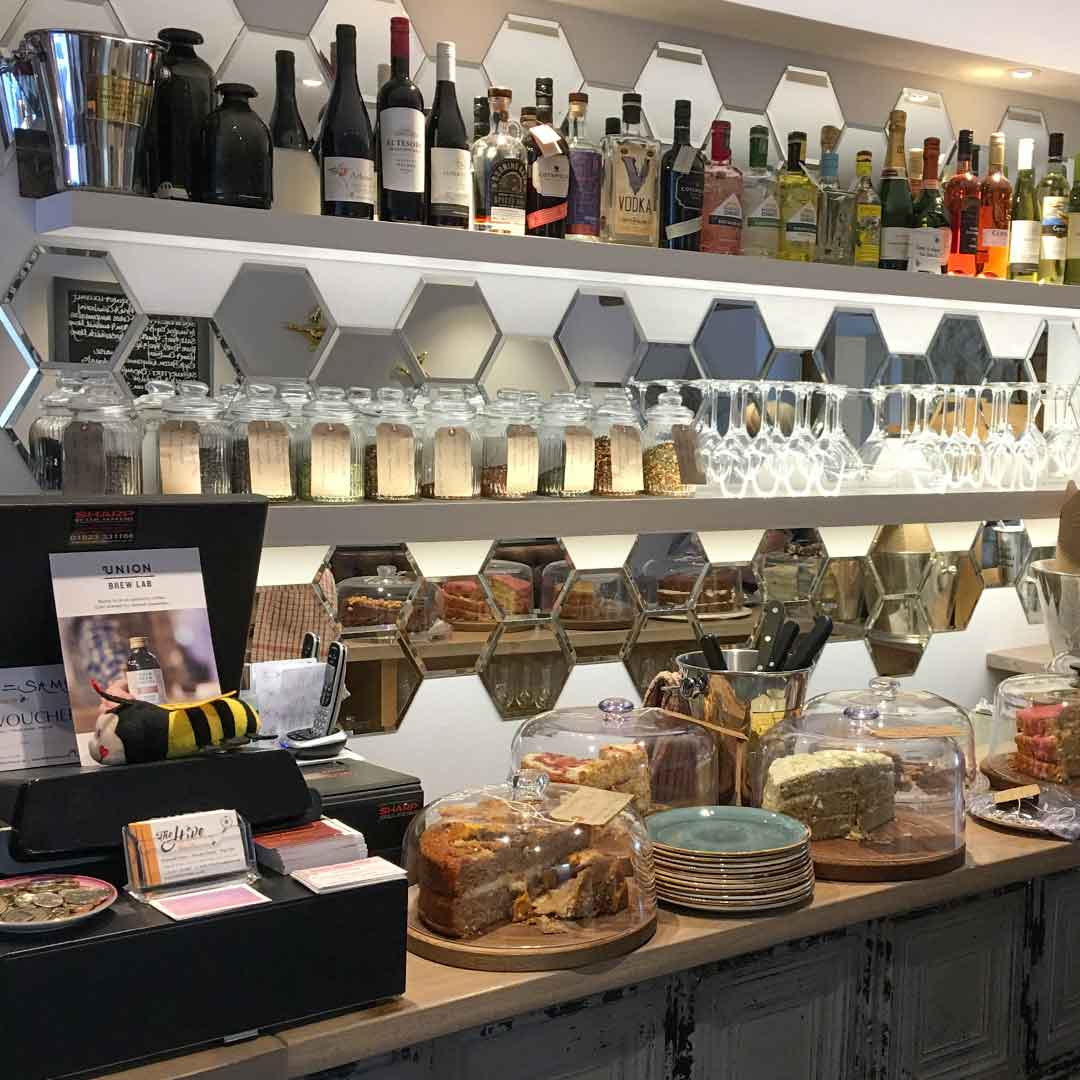 The Hive Cafe Stow - Cotswold Eats