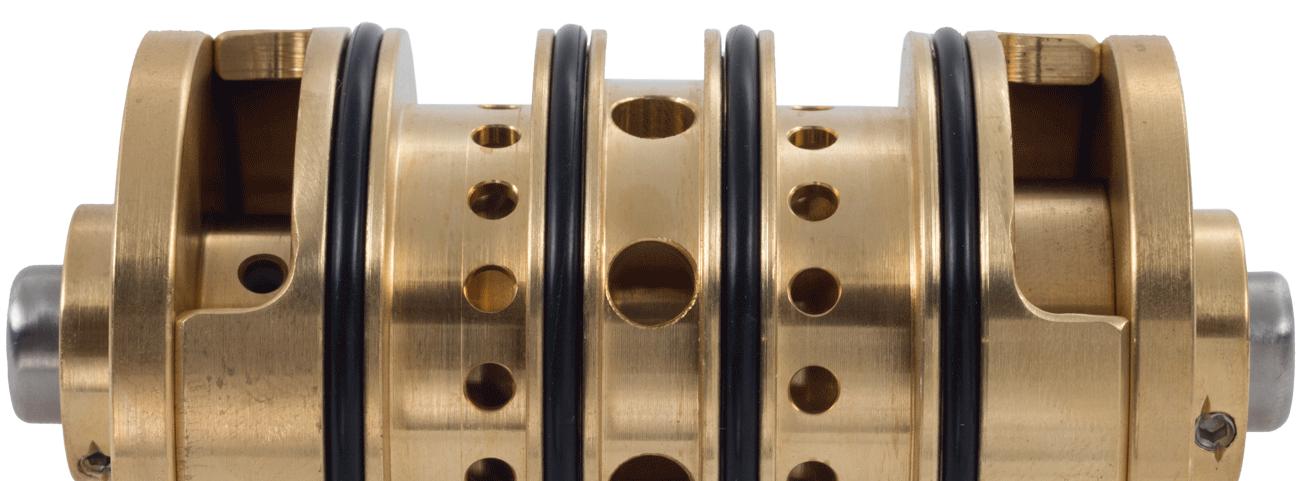 Oil free air valve
