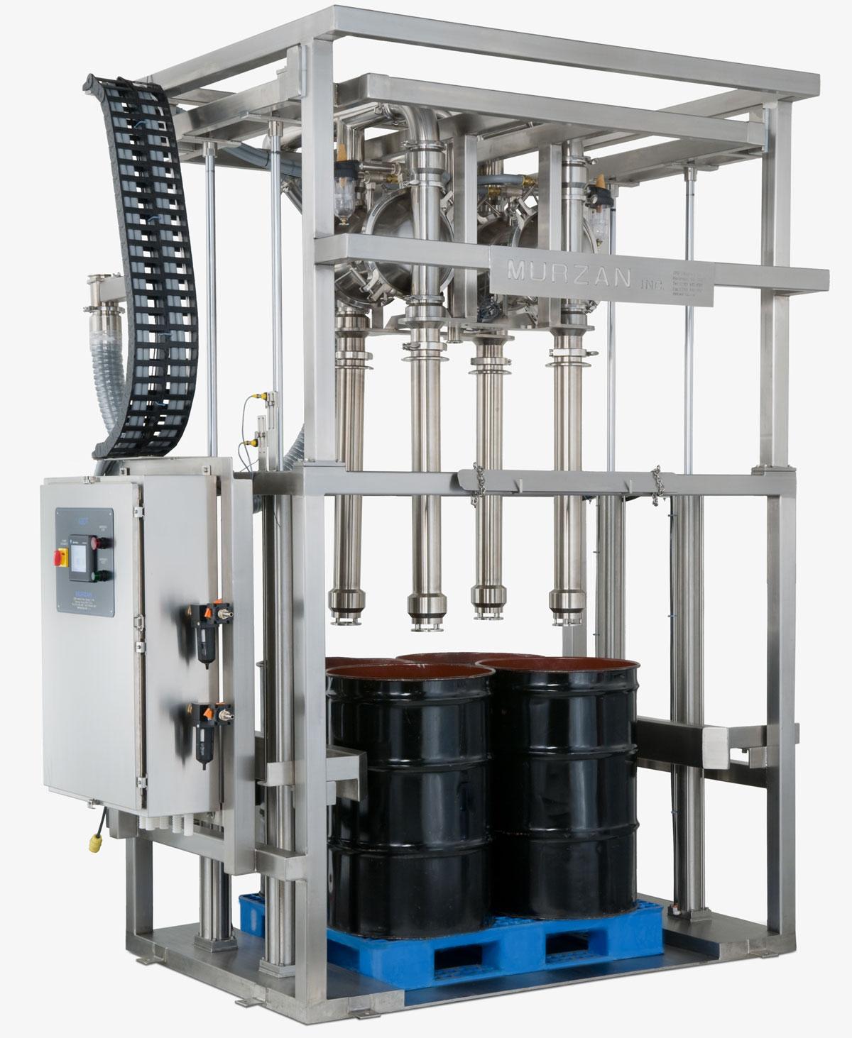 ADT Sanitary unloading system