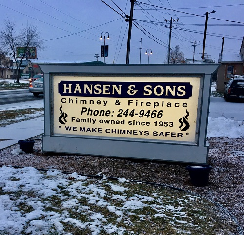 Hansen & Sons Sign