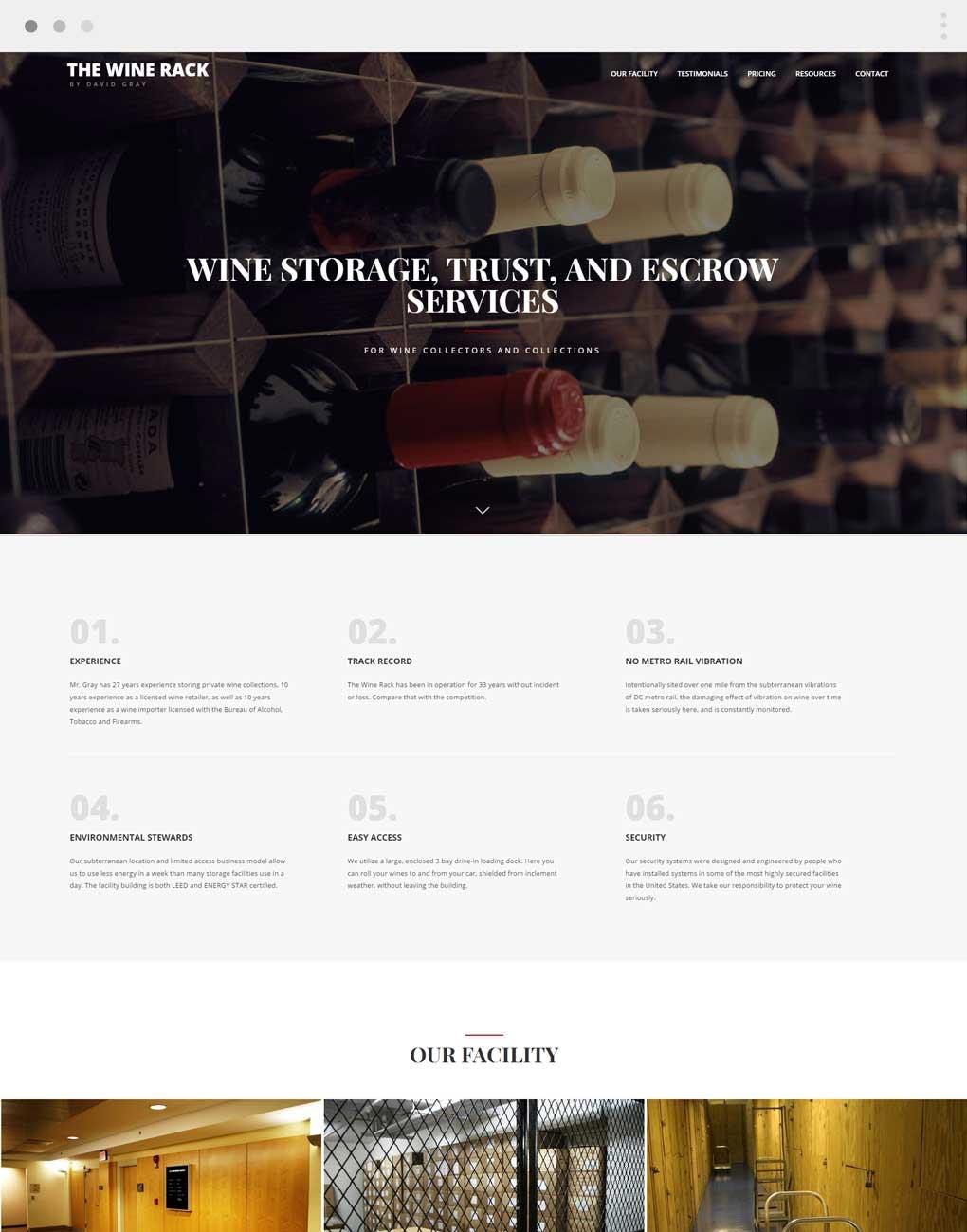 Wine Rack by David Gray