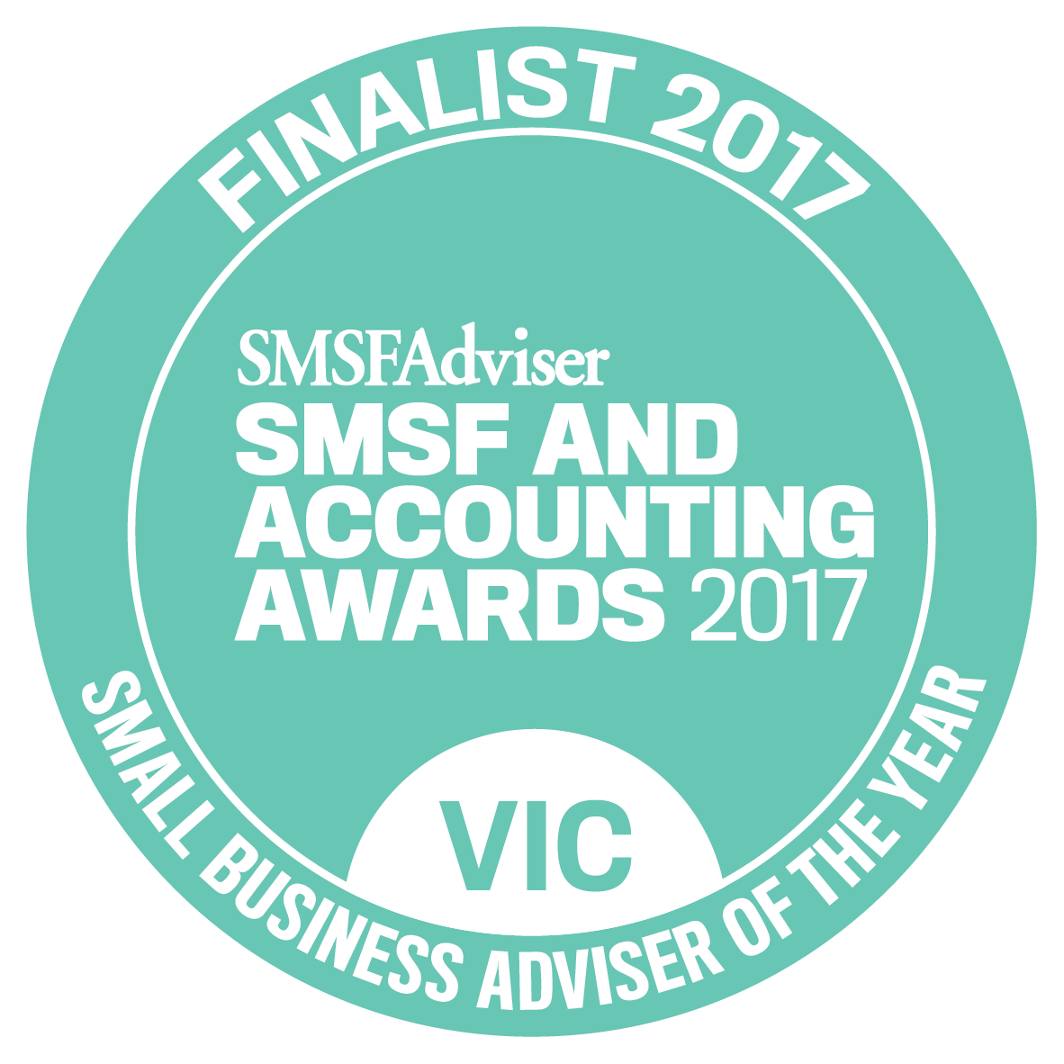 SMSF And Accounting Awards 2017 Small Business Adviser of The Year