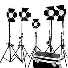 Live Event Shooting Equipment