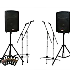 Event Sound System equipment