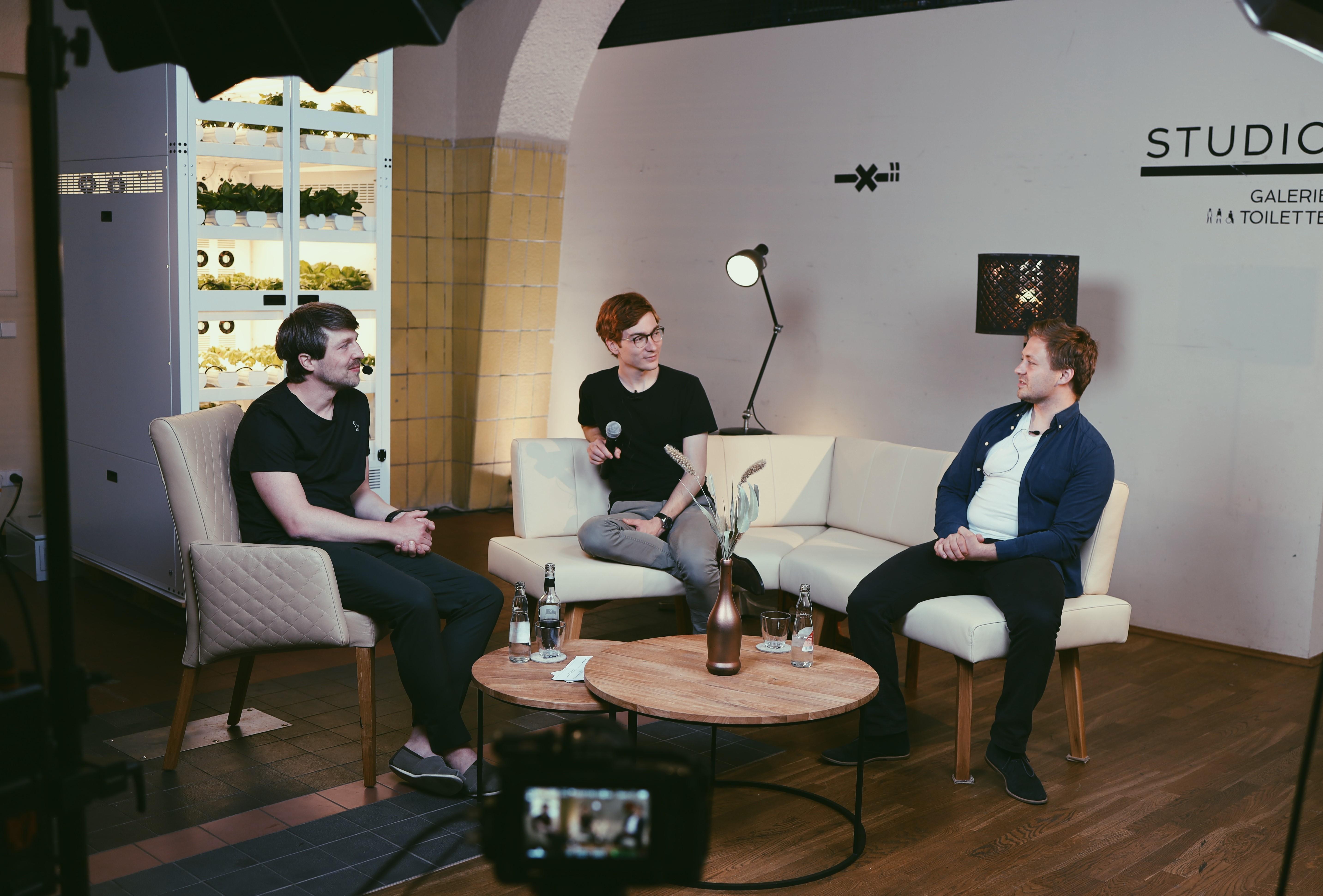 Martin Jaehnert, Marco Weicholdt, Maximilian Krauß