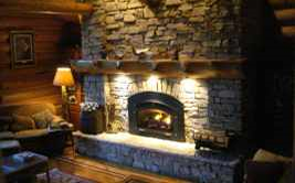 A Newly Inserted Fireplace