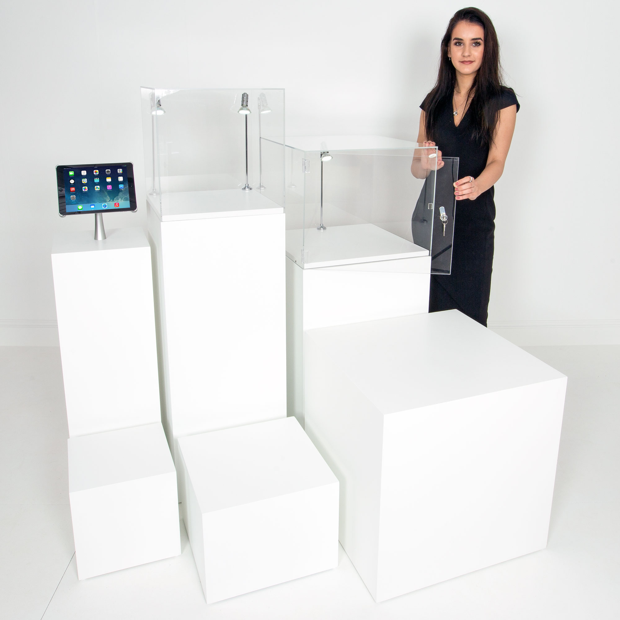 Display Stand Hire Uk : Display plinths hire or buy and pedestals ltd