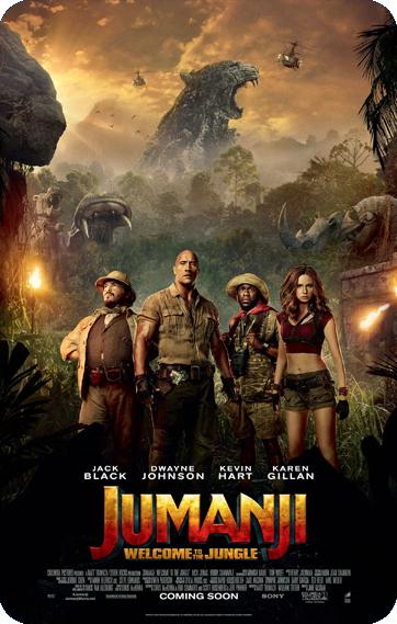 Jumanji 2 movie poster