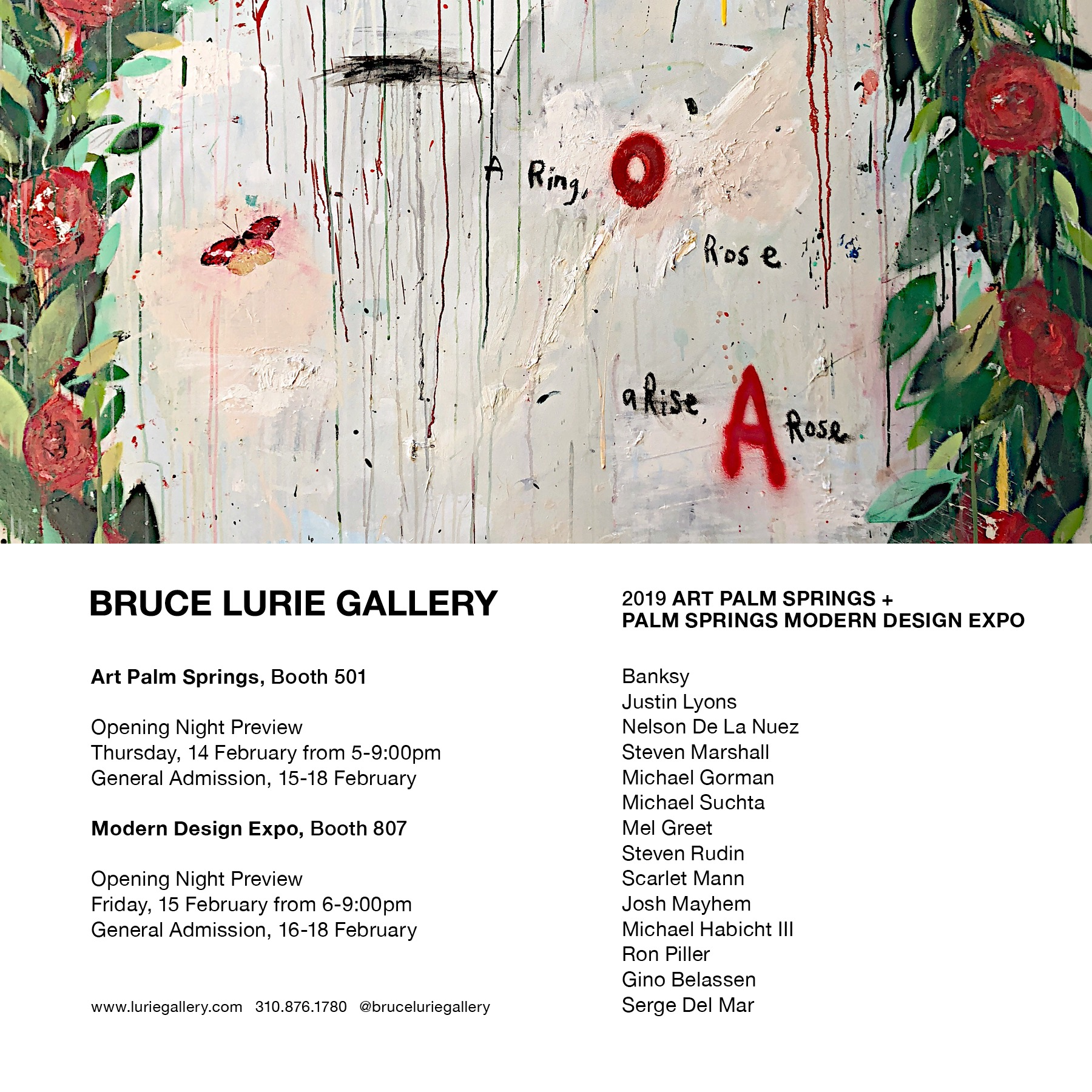 Events at Bruce Lurie Gallery