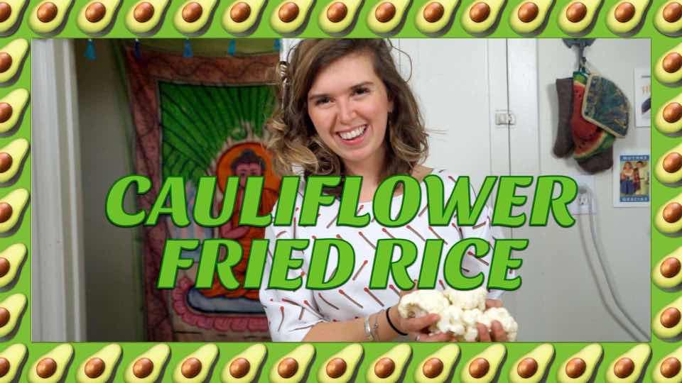 How to Make Cauliflower Fried Rice with Avocadamama