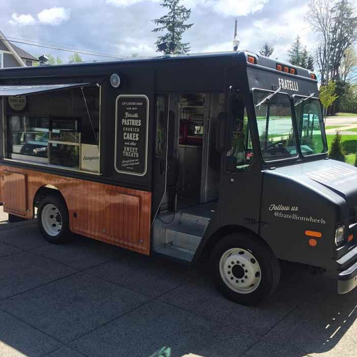 Food truck design for a Vancouver bakery.
