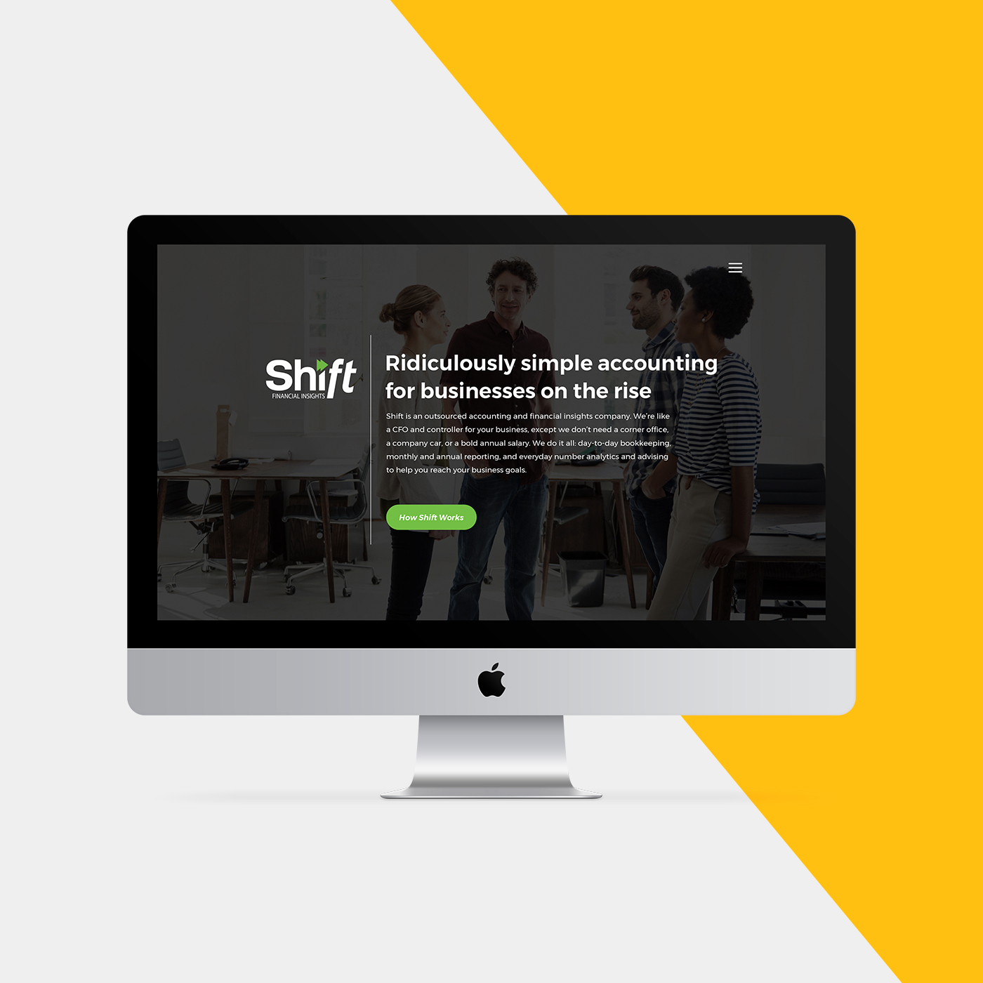 Brand launch for Shift Financial, by Flipside Creative.