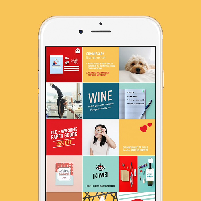 Instagram strategy and art direction for I'll Know It When I See It, by Vancouver-based marketing collective Flipside Creative.