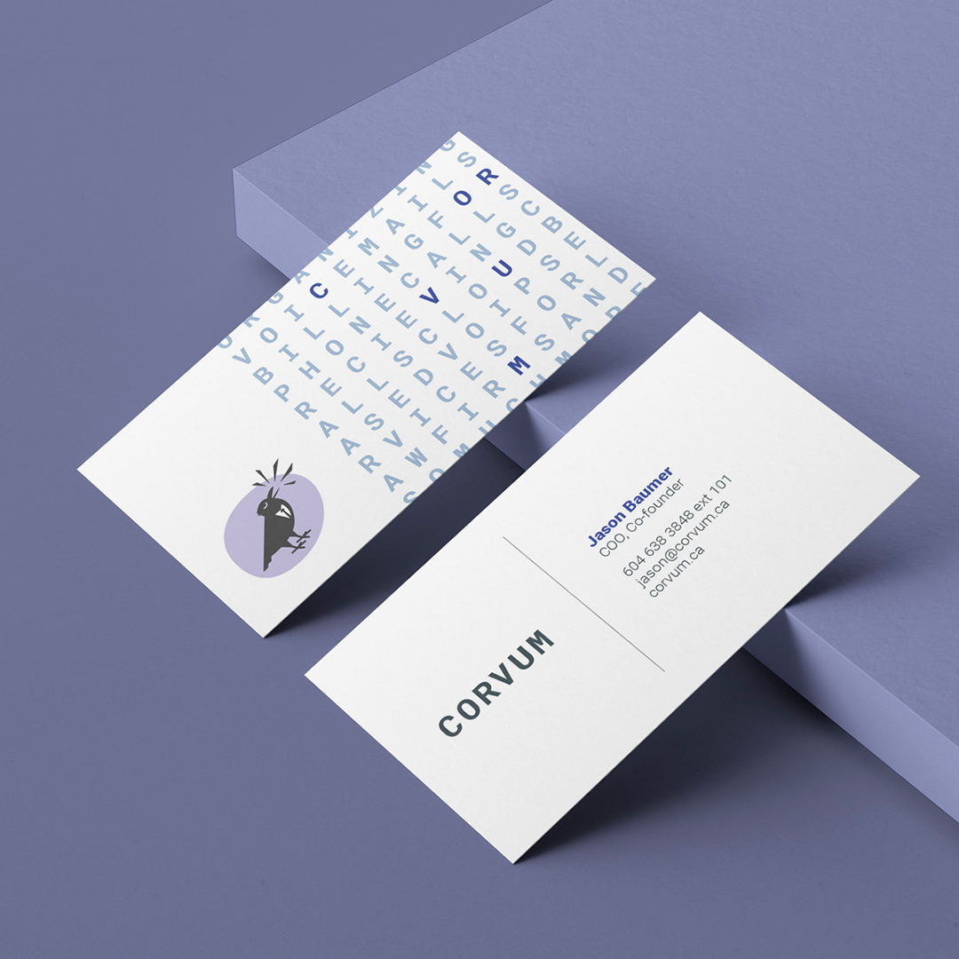 Brand design for CORVUM.