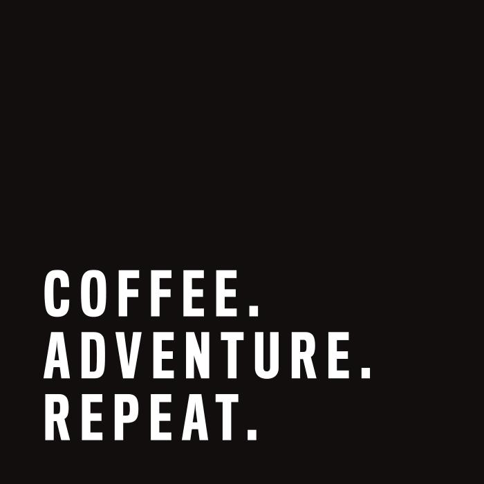 Caffe Garibaldi tagline by Vancouver-based creative collective, Flipside Creative.