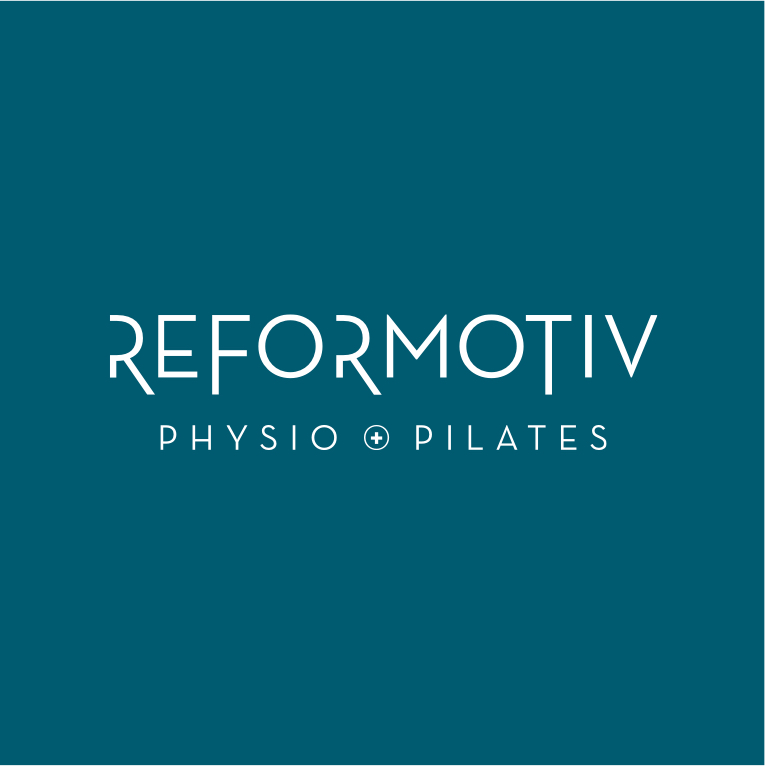 Reformotiv Physio + Pilates logo design by Flipside Creative.