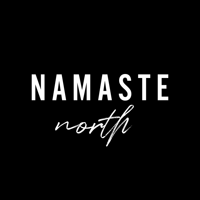 Brand design for Barrie-based yoga studio, Namaste North.