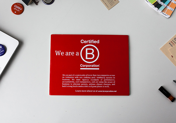 Flipside Creative is a certified B Corporation.