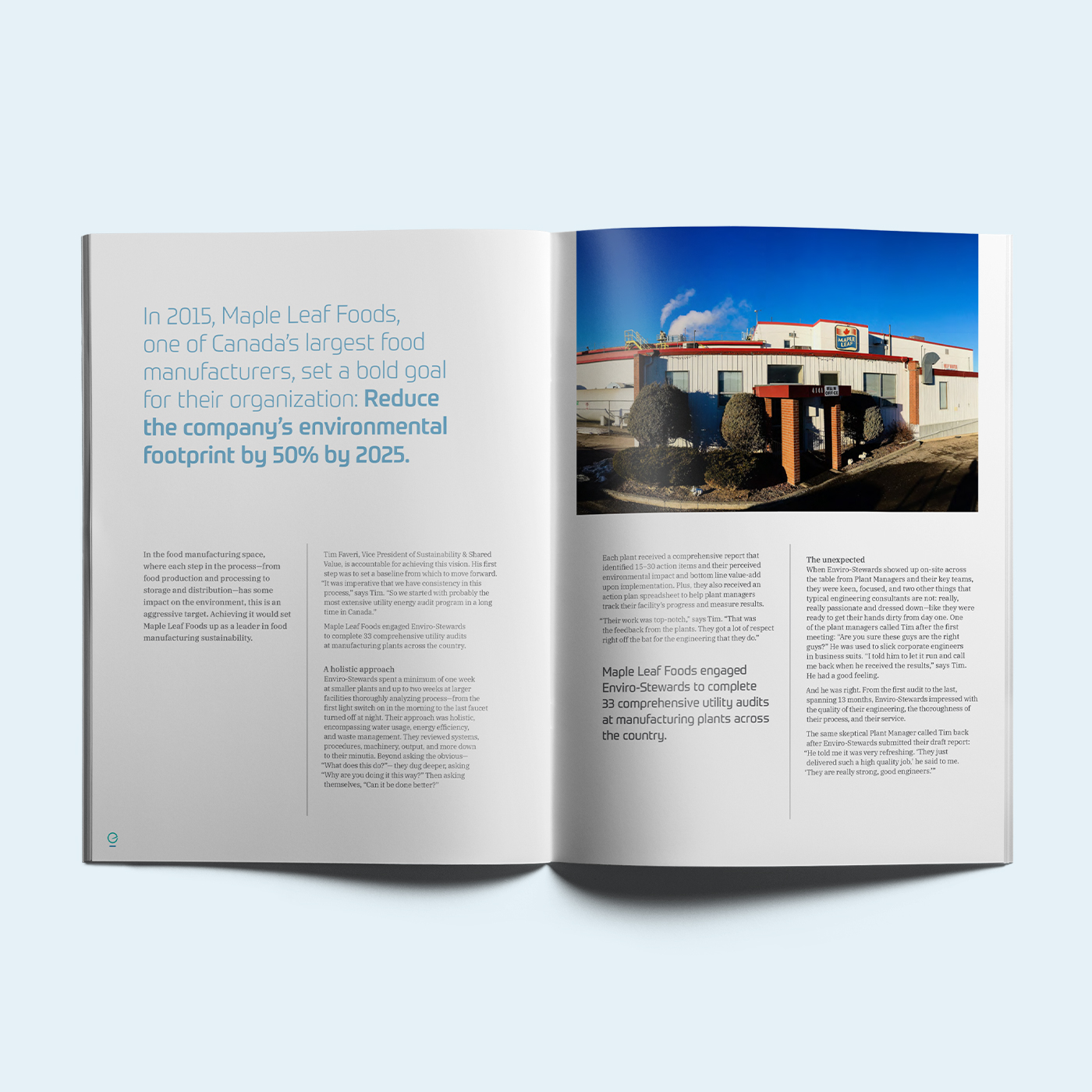 Brand design and marketing materials for Enviro-Stewards, by Flipside Creative.