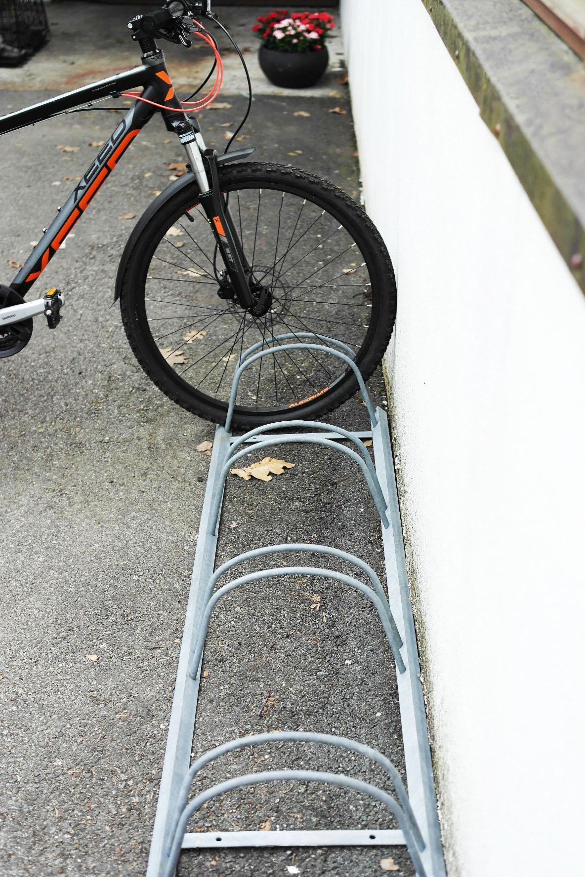 Sykkelstativ for 4 sykler