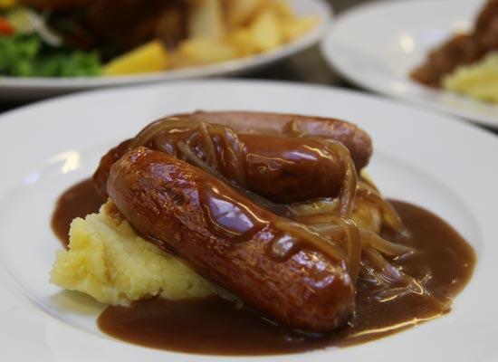 Photo of Sausages, Mash & Gravy.
