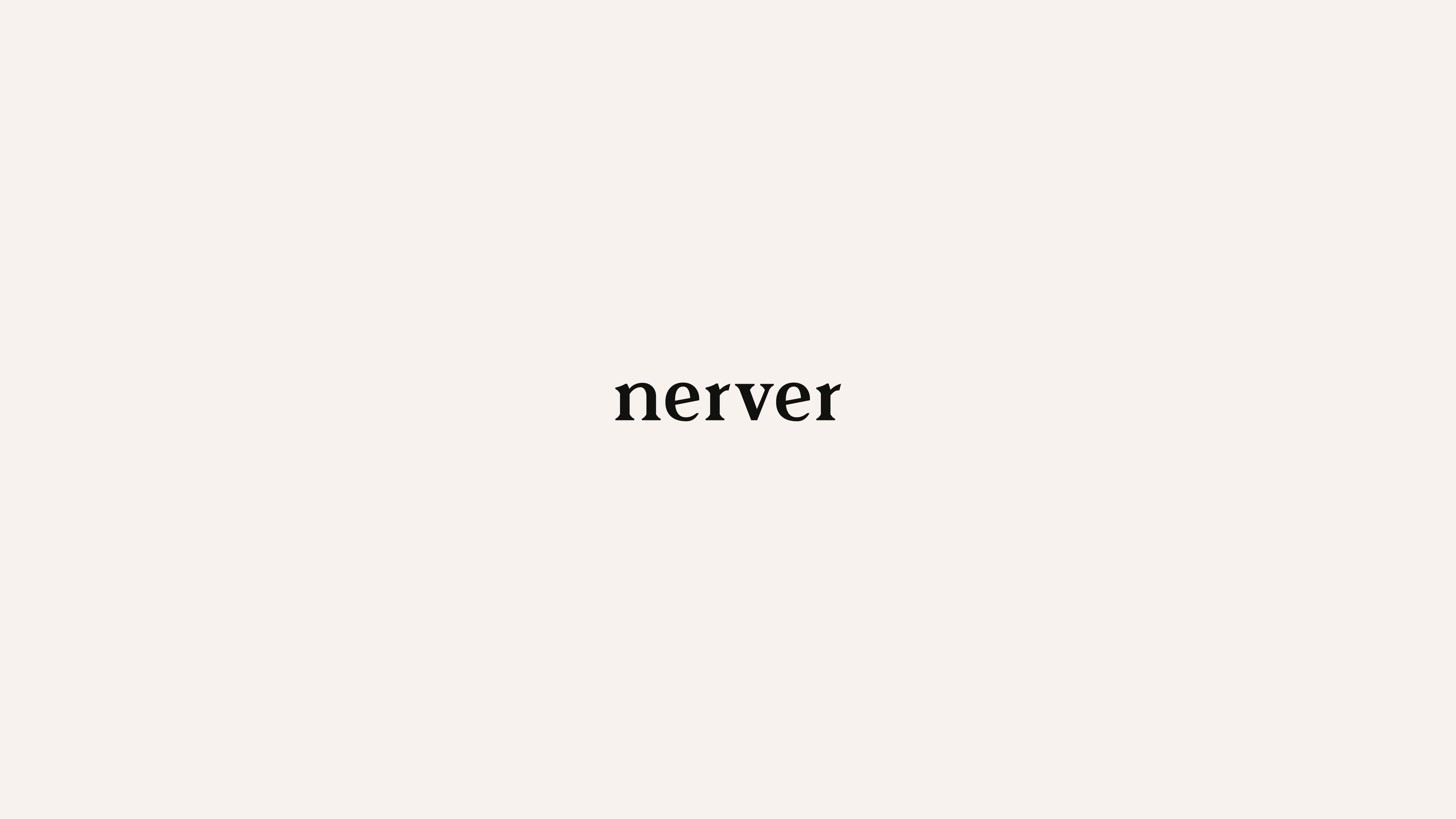 Nerver logo