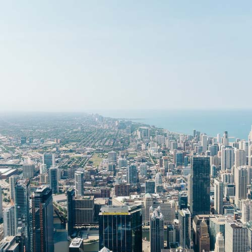 photo of chicago cityscape