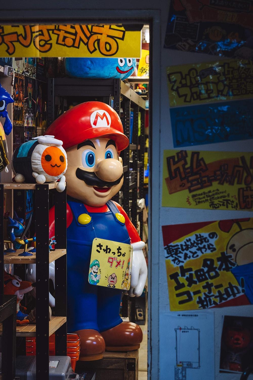 Tokyo video games shop