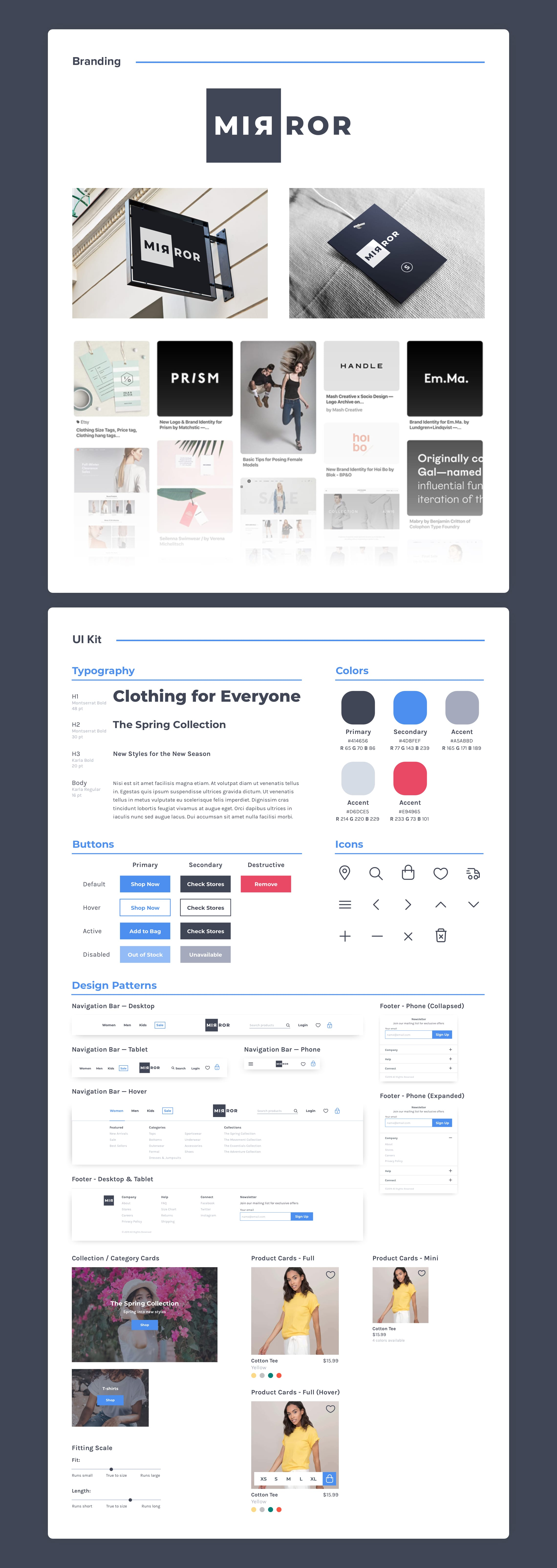 branding and UI kit