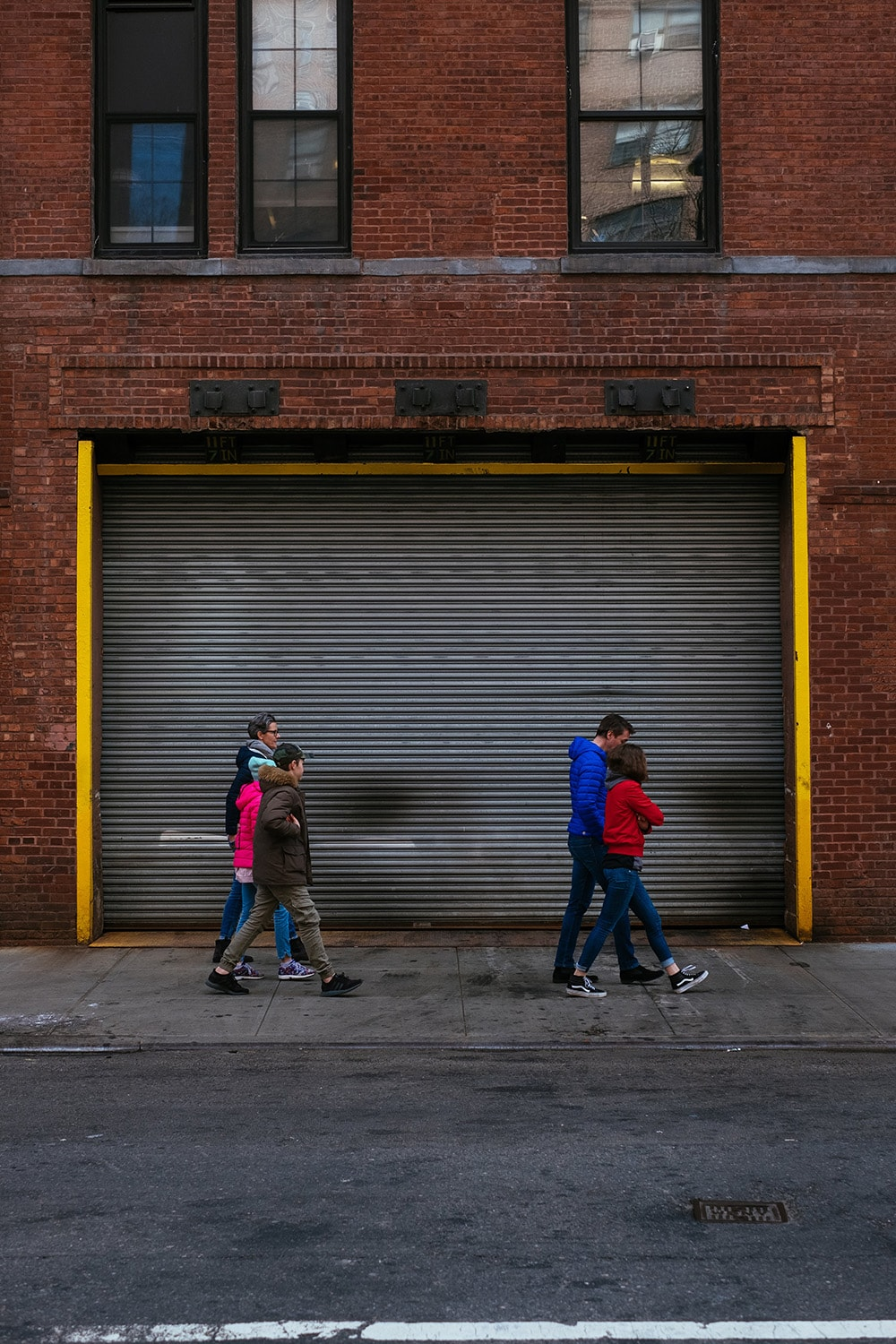 people walking in New York City