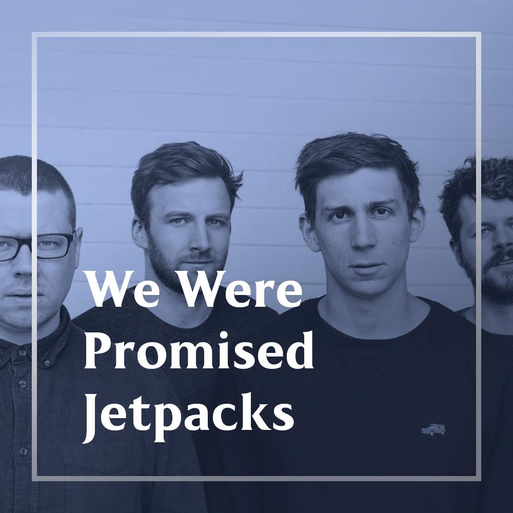 We were promised jetpacks playlist cover