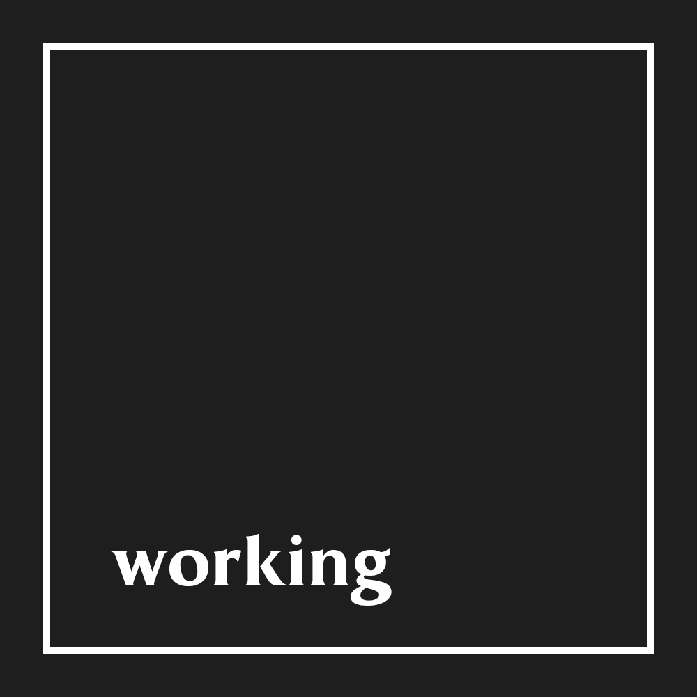 Working playlist cover