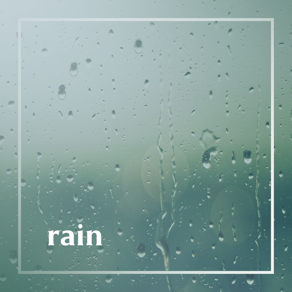 Rain playlist cover
