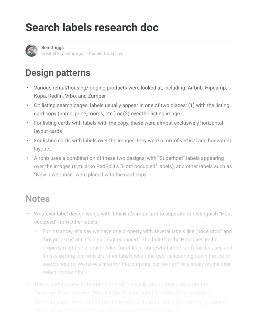 Research document preview