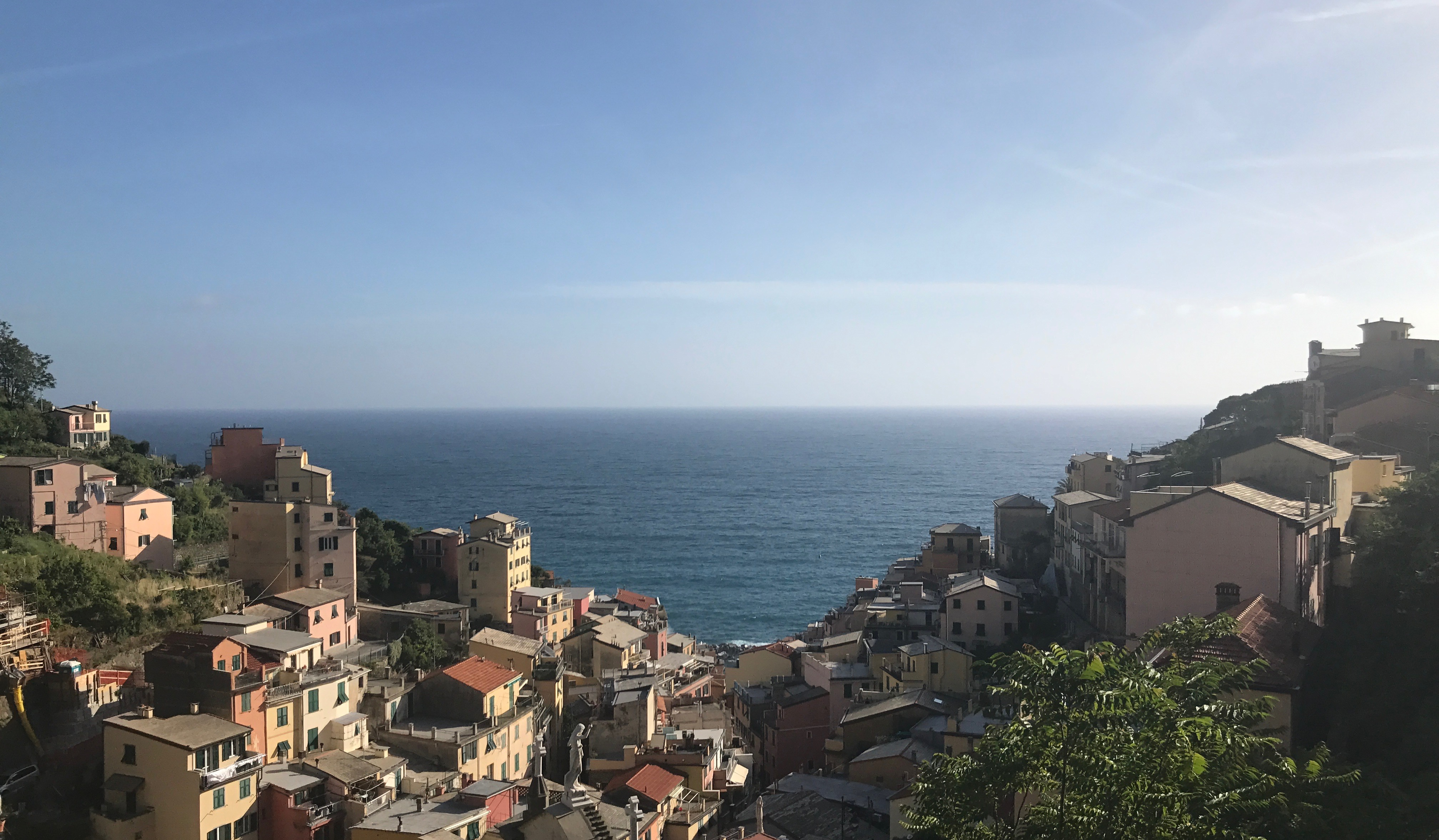Located in the Italian Riviera, Cinque Terre is a series of five villages spread along the dramatic coastline. Known for its vivid scenery, the villages are only accessible by foot, train or boat.