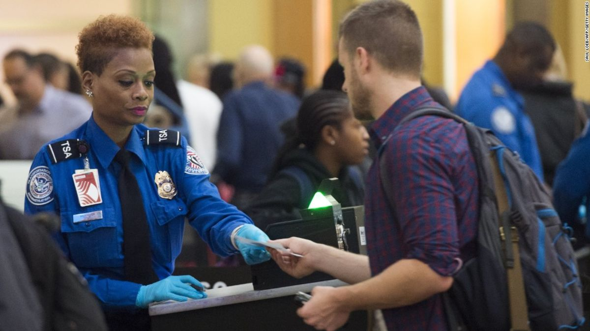 The transportation Security Administration procedures that came into effect after 9/11 have remained in place; however, those who fly regularly already have those shoes off,