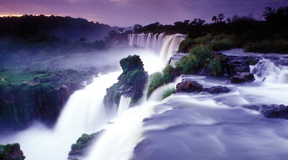 Located on the border of both Argentina and Brazil, this system of waterfalls is the largest in the world. Today the falls are a UNESCO world heritage site, and part of a National Park connecting the two countries.