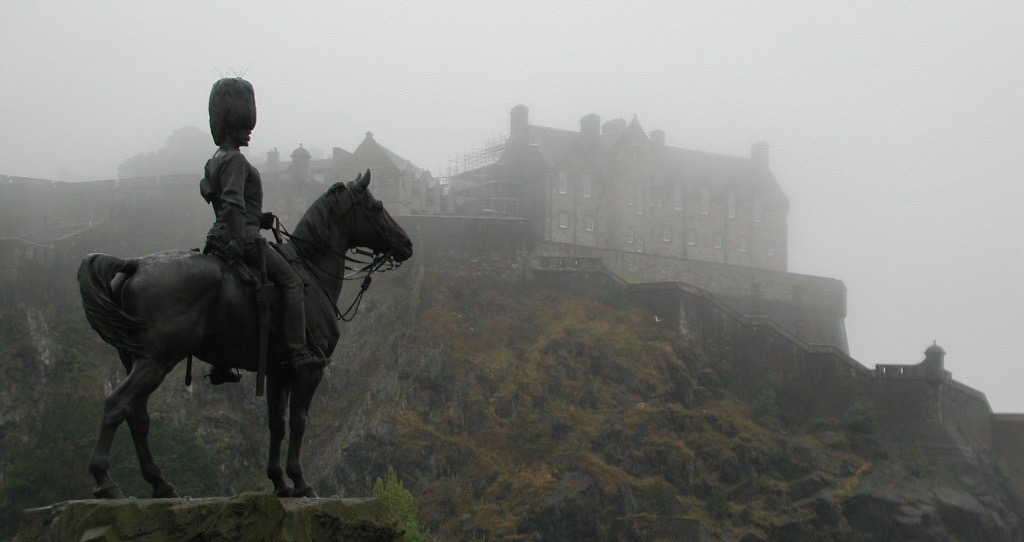 Most people consider Edinburgh to be one of the most haunted places in Europe probably because it has seen a lot of bloodshed and torture, mostly happening in the walls of the famous Edinburgh castle.