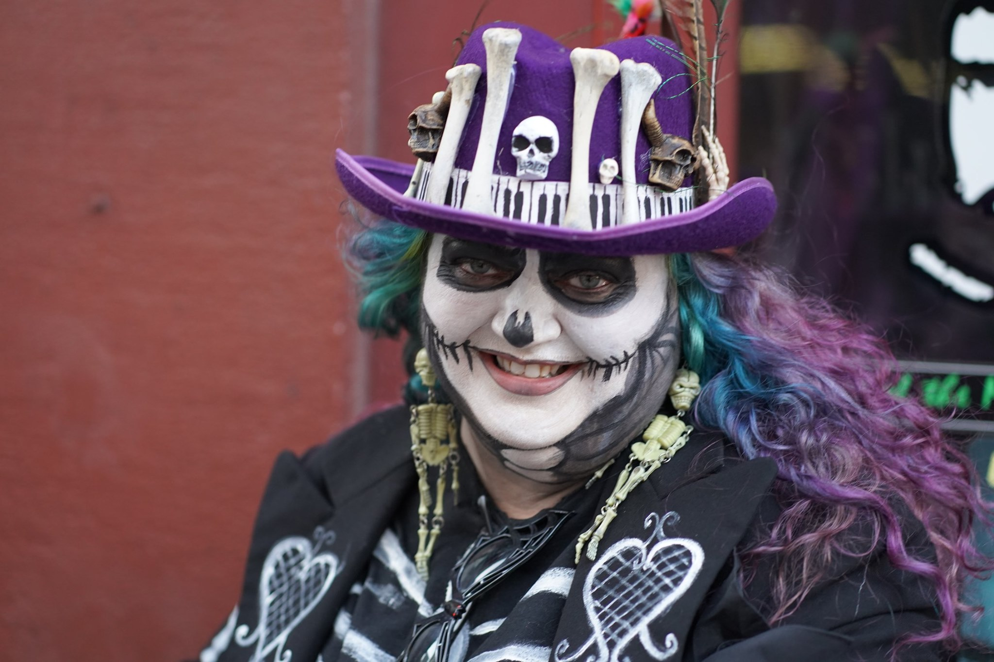 Photo's from Halloween 2019, New Orleans has a rich history of 300 years, some of the events that have happened include a lot of death, from murderer killers to vampires urban myths.